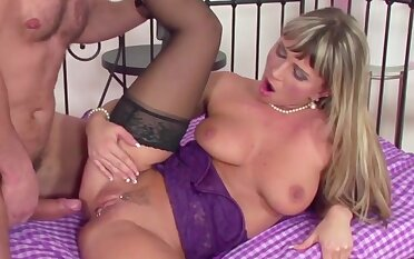 Sexy and hot big tits babes enjoy their doyen pussies getting reamed with hard dicks