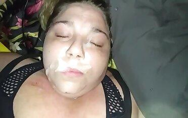 Kaci Stout Facial Plus Cum Swallow Cumshot Compilation Updated Version