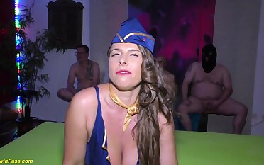 buxom stewardess to the manner born susi tough assfuck soiree humped