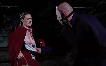 Red riding hood role play goes nasty