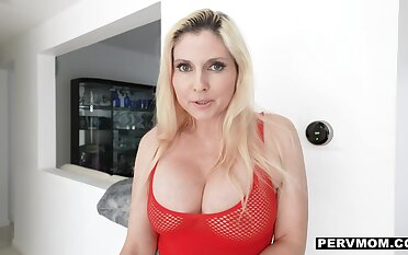 Superbowl smackdown w giant tits about see-thru tops