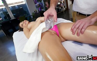 Nina North gets rubbed on all her infuriated spots
