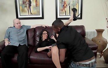 dava cuckold her husband with big black dick