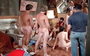 Vintage Group Fucking scene action