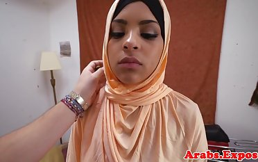 Arabian amateur fucks and sucks for cash