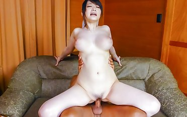 Horny Japanese whore Rie Tachikawa in Best JAV uncensored Big Tits scene