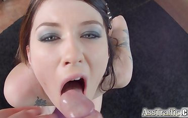 Ass Traffic Polish fox Misha Cross does great anal with wide gapes