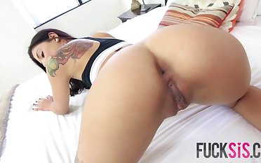 Gina Valentina in Testing Out Her Skills
