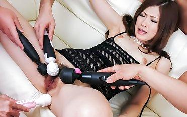 Horny Japanese slut Rina Koda in Best JAV uncensored Blowjob scene