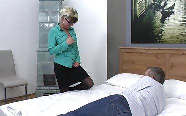 Botos Zoltane gets her pussy pounded from behind by her horny suitor
