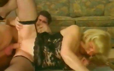 Vintage Granny Sucks N Fucks A Young Un !