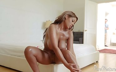 Bridgette B is sex on legs and she only has sex with good shy men