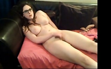 Beautiful Hairy Teen works her pussy for me
