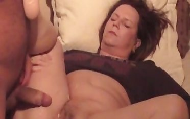 My mature wed loves a big tax on her pussy