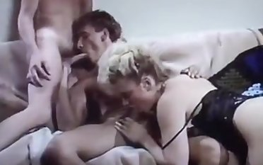Bisex Threesome 80s