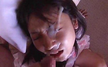 Asian Doll Recieves Huge Messy Facial 2
