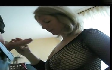 My massive gut look hot in my amateur blowjobs video